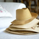 How to look different in a straw hat?